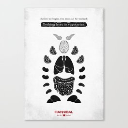 Hannibal - Sorbet Canvas Print
