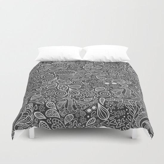 Doodle pattern Duvet Cover