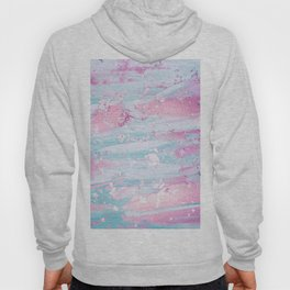 Shine Shimmer Pastel Pink and Blue Modern Hoody
