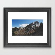 Utah Mountains Framed Art Print