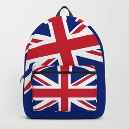 UK FLAG - Union Jack Authentic color and 3:5 scale  Backpack