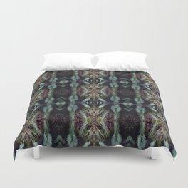 kaleidoscopic fern Duvet Cover