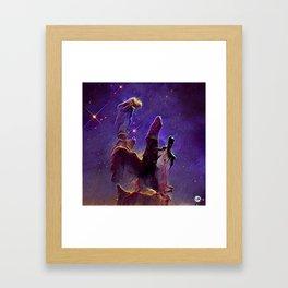 ALTERED Pillars of Creation Framed Art Print