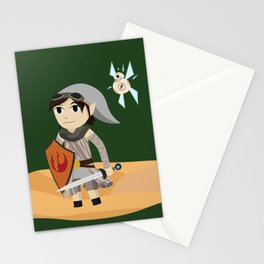 The Hero of Jakku Stationery Cards