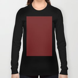 Prune Red Long Sleeve T-shirt