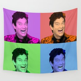 David S. Pumpkins - Any Questions? - Pop Art Wall Tapestry