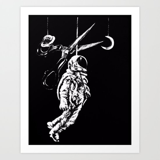 Don't Tell Me What I Can't Do. Art Print