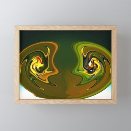 Susan and Roger Framed Mini Art Print