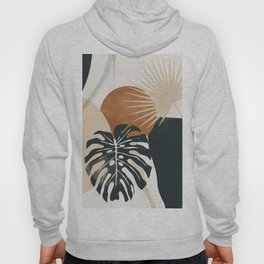 Abstract Art Tropical Leaves 7 Hoody