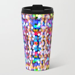 Xmas Blurred Lights Travel Mug