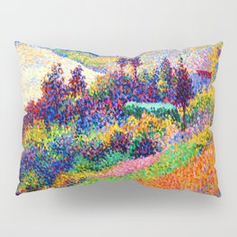 Maximilien Luce Seine at Herblay Pillow Sham