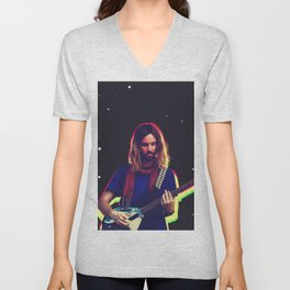 Kevin Parker from Tame Impala Unisex V-Neck
