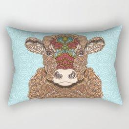 Frida the cow Rectangular Pillow