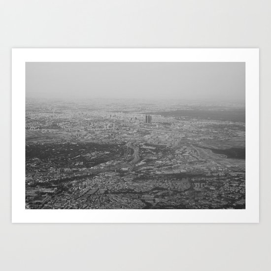 Madrid I Art Print