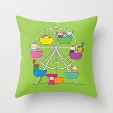 Oekie Fair Throw Pillow