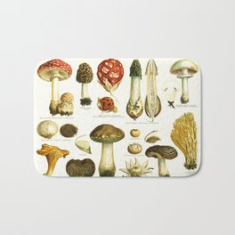 Mushrooms Bath Mat