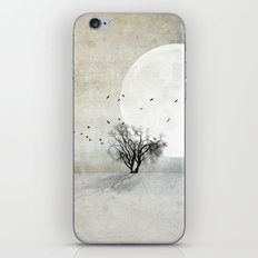 Only the Moon Knows iPhone & iPod Skin