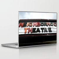 theatre Laptop & iPad Skins featuring Theatre by Caitlin Victoria Parker
