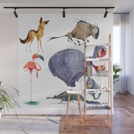 African animals 3 Wall Mural