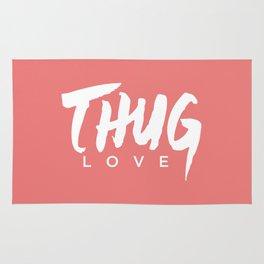 Thug Love (Salmon) Rug