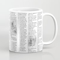 pride and prejudice Mugs featuring Pride and Prejudice by Rachel Bradford