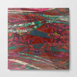 The Fabric Forest Metal Print