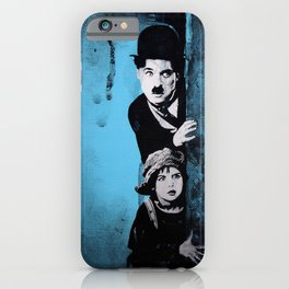 KINO - Chaplin and the kid iPhone Case