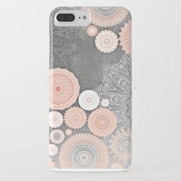 FESTIVAL FLOW BLUSH SUNSHINE iPhone Case