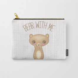 Bear With Me - Creepy Cute Teddy Carry-All Pouch
