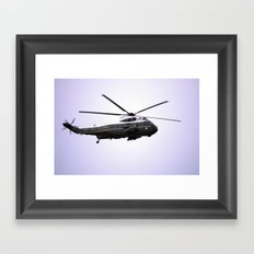 President of the United States  Framed Art Print