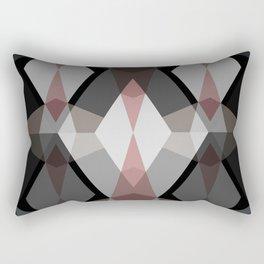 Rhombus Pattern Rectangular Pillow