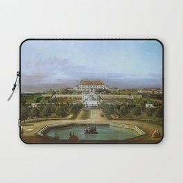 Bernardo Bellotto - Schloss Hof, Garden Side Laptop Sleeve