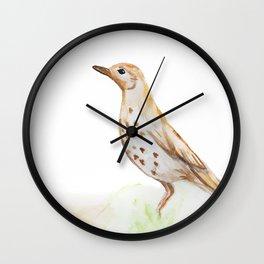 Study of a Bird Wall Clock