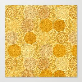 Saffron Souk Canvas Print