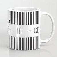 code Mugs featuring Music Code by Sitchko Igor