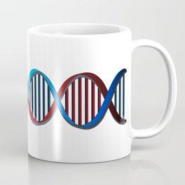 Futuristic DNA String Coffee Mug