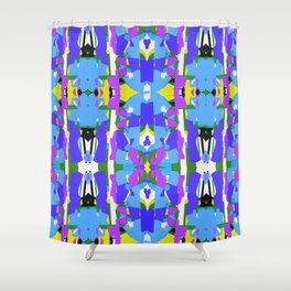 Mozaika2 Shower Curtain