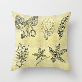 Plants, plants, plants Throw Pillow