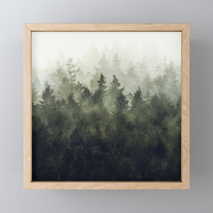 The Heart Of My Heart // Green Mountain Edit Framed Mini Art Print