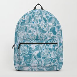 Clear Blue Water Backpack