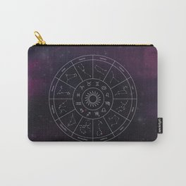 Zodiac Map Carry-All Pouch