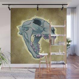 Tiger Skull Wall Mural