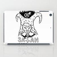 boyfriend iPad Cases featuring SATAN IS MY BOYFRIEND by Shaltmira