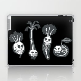 X-rays vegetables (black background) Laptop & iPad Skin