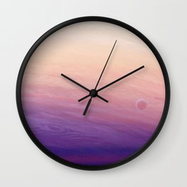 Little planet Wall Clock