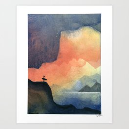 Searching - Part 2 Art Print