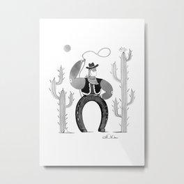 Lucky Metal Print