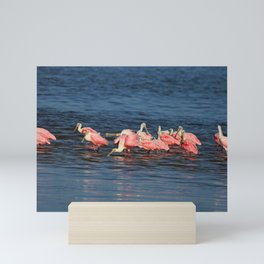 Wings in the Water Mini Art Print