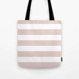 Dust storm - solid color - white stripes pattern Tote Bag