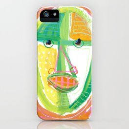 Summer Man iPhone Case